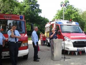 Einweihung Feuerwehrauto 2015